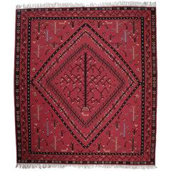 Large Sharkoy Kilim Rug