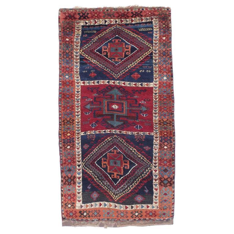 Fantastic Antique Kurdish Rug For Sale At 1stdibs