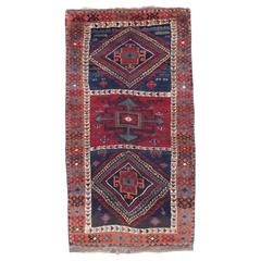 Fantastic Antique Kurdish Rug