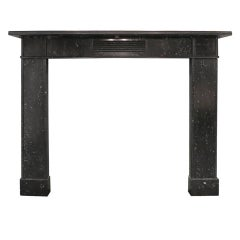 Antique Irish Kilkenny Marble Fireplace Mantel