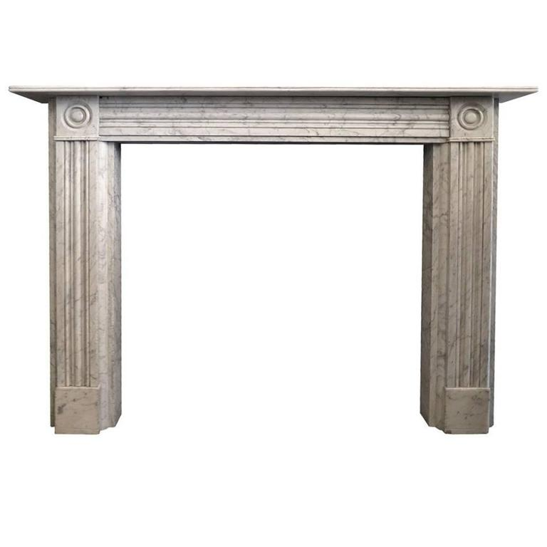 Antique regency marble fireplace mantel for sale at 1stdibs for Marble mantels for sale