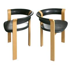 Pair of Chairs by Rud Thygesen and Johnny Sorensen