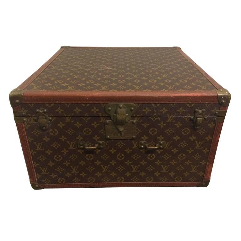 Vintage Louis Vuitton Hutschachtel 1