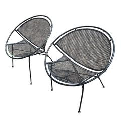 Wrought Iron Side Chair By Salterini For Sale At 1stdibs