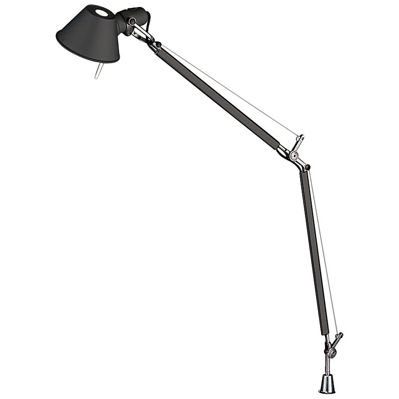 Artemide Tolomeo Classic Table Lamp with Inset Pivot in Black