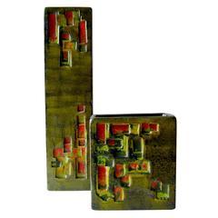 Marcello Fantoni Raymor Italian Modernist Design Ceramic Vases