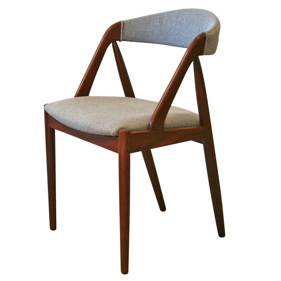 Vintage Danish Teak Dining Chair At 1stdibs