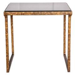 Gilt Metal Jansen Drinks Table