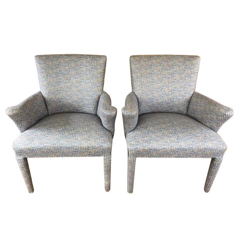 Pair of Mid-Century Danish Upholstered Chairs