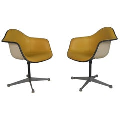 Pair of Charles Eames for Herman Miller Bucket Chairs