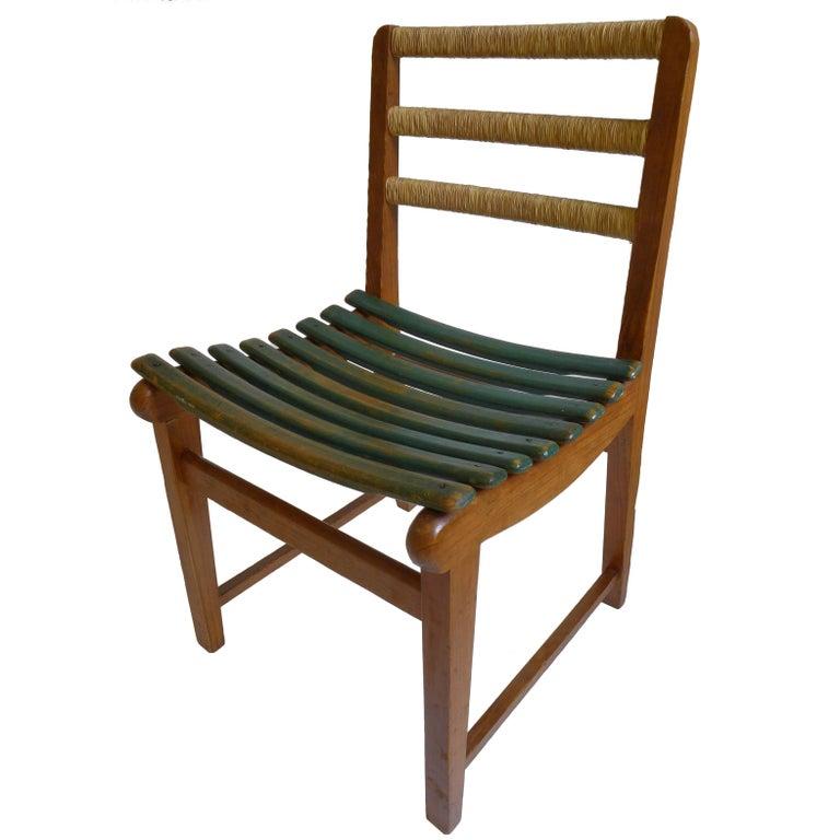 Michael Van Beuren Chair for Domus For Sale