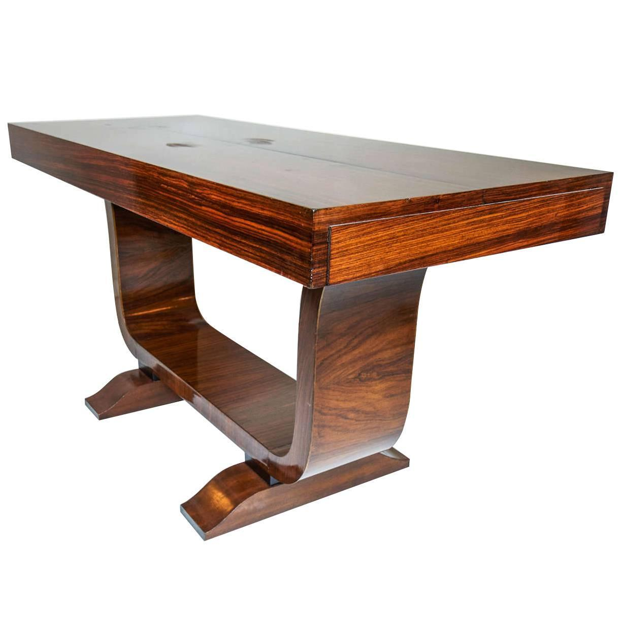 Elegant Art Deco Console Table, 1930 At 1stdibs