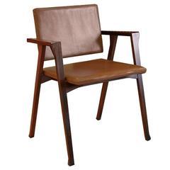 Rosewood Luisa Chair by Franco Albini