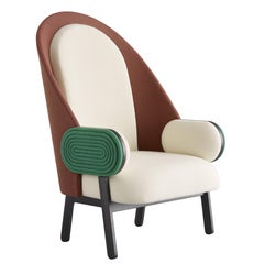 'MOON-B', a Contemporary Armchair with a Vintage Twist in Limited Edition