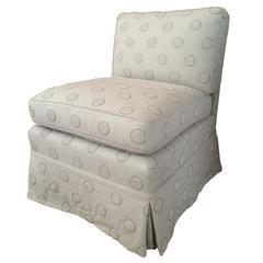 Slipper Chair after Billy Baldwin