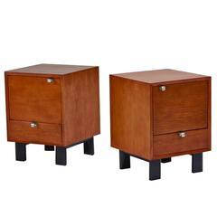 Pair of George Nelson Nightstands, Model 4617, 1947