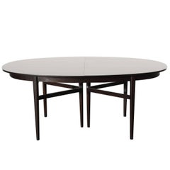 Danish Modern Style RomWeber Oval Mid-Century Dining Table
