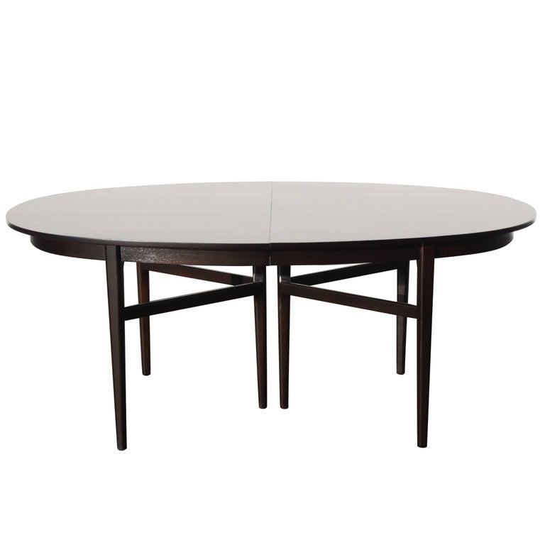 Beautiful RomWeber Oval Mid-Century Dining Table For Sale
