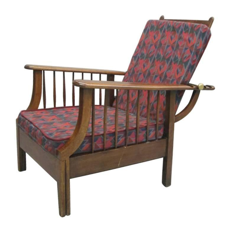 Arts And Crafts Armchair In The Style Of William Morris For Sale