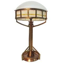 Jugendstil Period Table Lamp