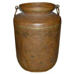 Large-Scale Copper Urn