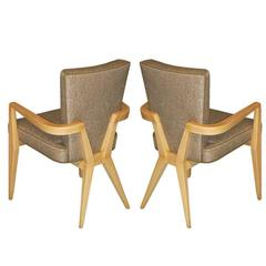 Maxime Old Pair of Armchairs
