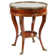 19th Century Gueridon Centre Table in the Manner of JJ. Chapuis