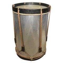 Italian Military Drum Drinks Table