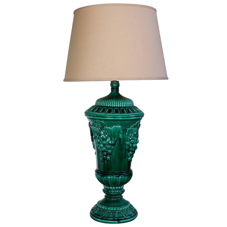 Large Ceramic Table Lamp