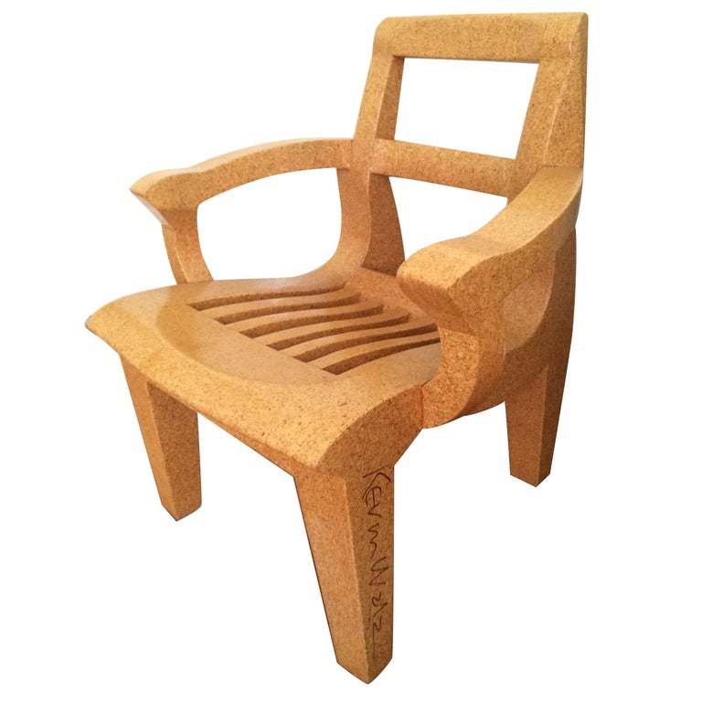 """Signed Kevin Walz """"Korq Armchair,"""" 1997 For Sale"""