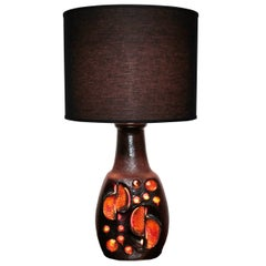 Large French Accolay Table Lamp