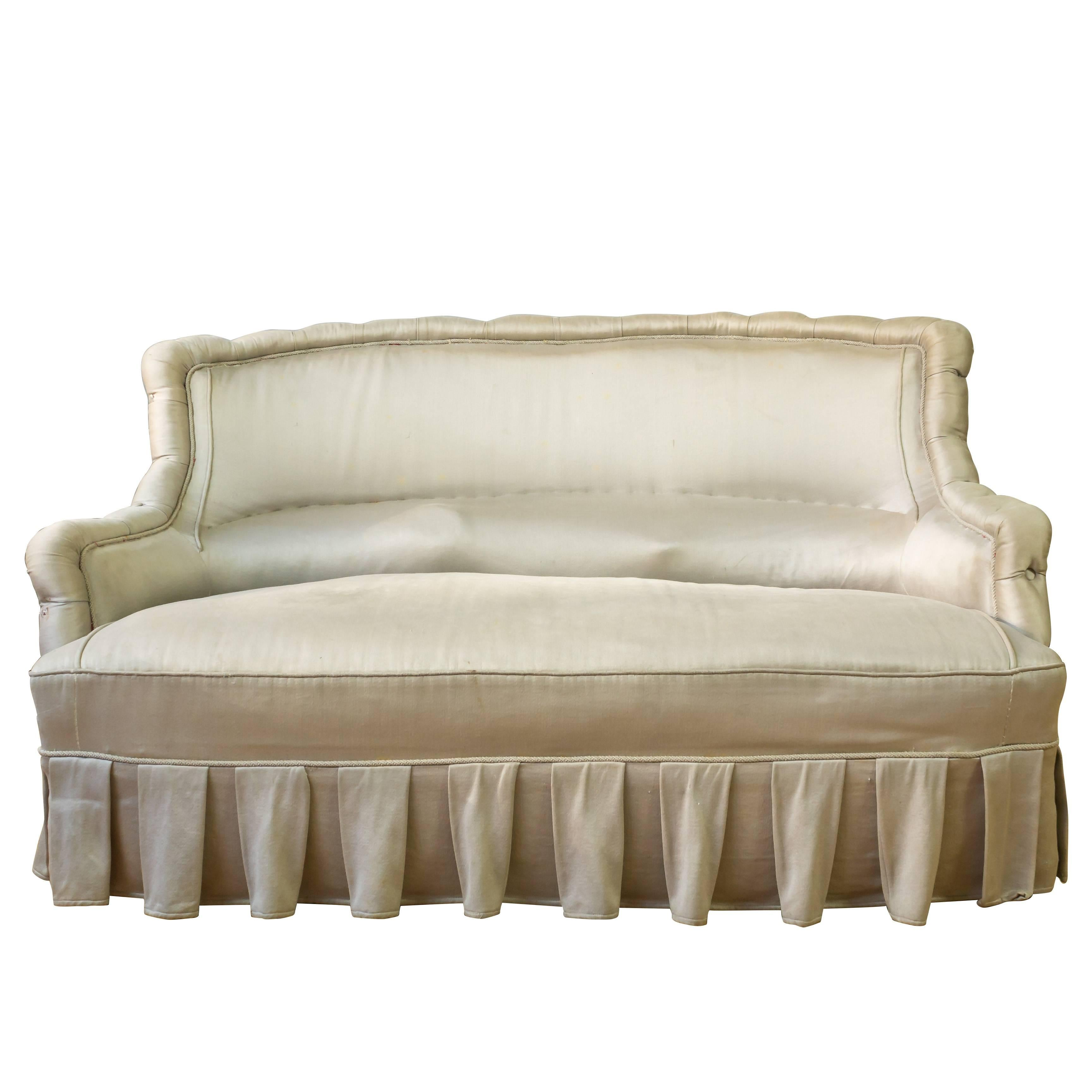 French 19th Century Settee