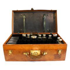 Antique Luxury Goyard Vanity Leather Case