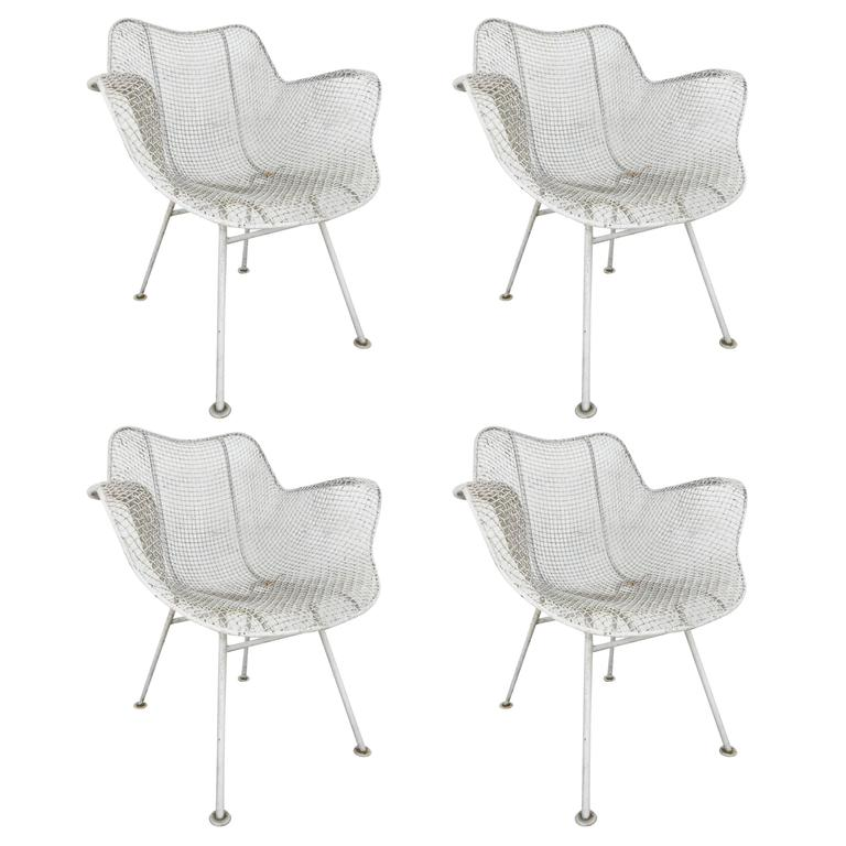 Russell Woodard Sculptura Patio Chairs For Sale