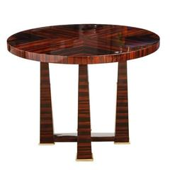 Art Deco Side Tables or Gueridons