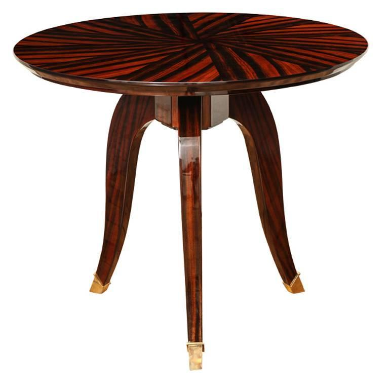 Art deco gueridon or side table at 1stdibs for Table gueridon