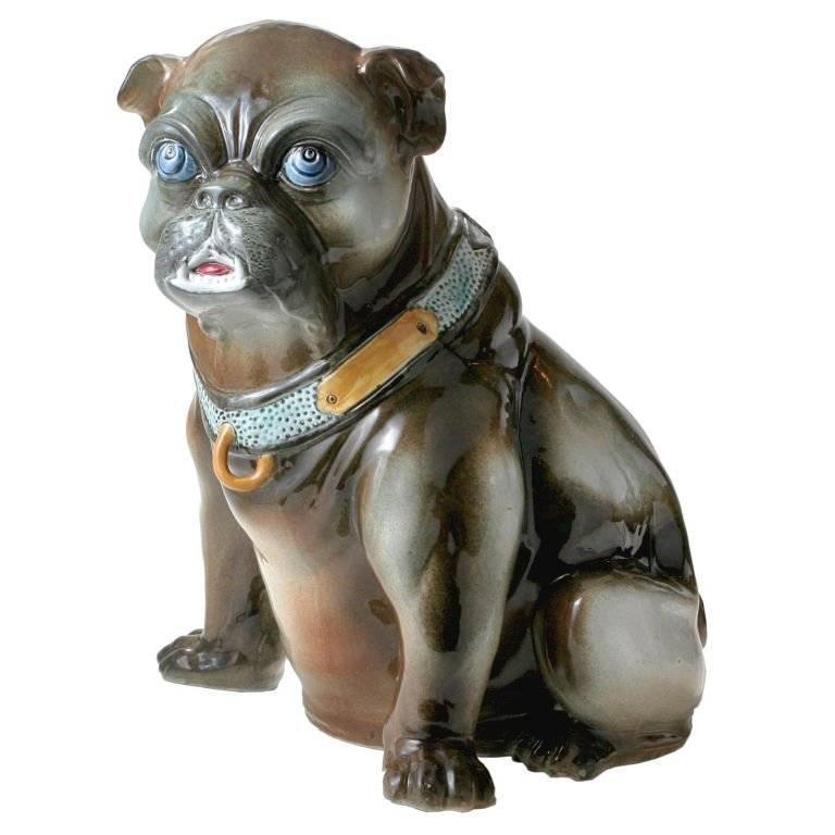 Ceramic Bulldog For Sale