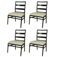 Set of Four T.H. Robsjohn-Gibbings for Widdicomb Dining Side Chairs