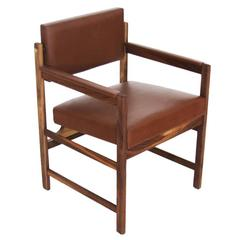 The Basic Pivot Back Arm Chair by Thomas Hayes Studio