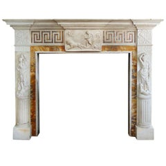 Marble Fire Place Mantel from Heiress Doris Duke