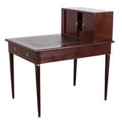 Gustavian Mahogany Writing Desk