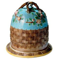 Majolica Cheese Dome