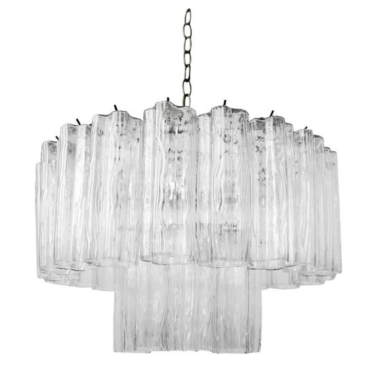 Murano Glass Chandeliers by Camer