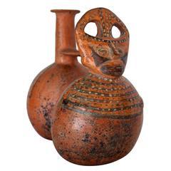 Inca Period Linked Ceramic Vessels