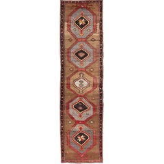 Geometric Turkish Runner with Brown