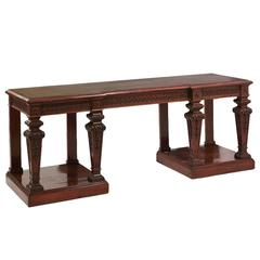 Mahogany Console Tables by 'Holland and Son'