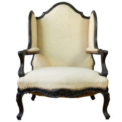 Unusual French, 19th Century Napoleon III Winged Bergere