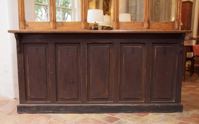 French Post Office Counter For Sale At 1stdibs