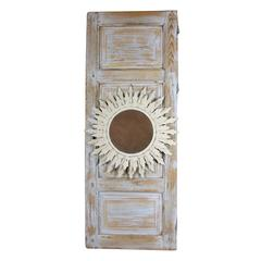 Hand painted light up nude figural bar wall mirror for sale at 1stdibs mediterranean style sunburst mirror wall decoration aloadofball Gallery