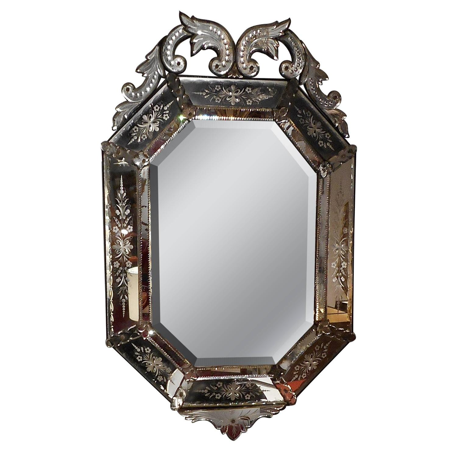 Antique venitian mirror at 1stdibs for 207 haute antiques